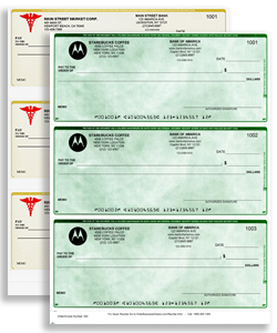 Quickbooks Checksbusiness checks with logo