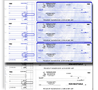 Reorder Manual Business Checks